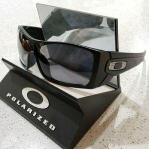 Oakley Batwolf Sunglasses Matte Black / Gray Polar
